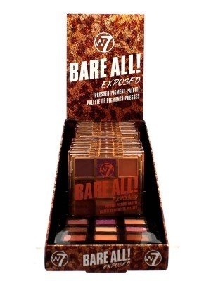 Wholesale W7 Bare All Pressed Pigment Palette Tray- Exposed