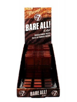 Wholesale W7 Bare All Pressed Pigment Palette Tray- Raw