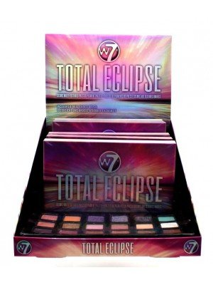 Wholesale W7 Total Eclipse Cosmic Multi-Textured Pressed Pigment Palatte Tray