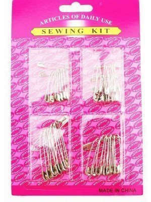 Wholesale Sewing Kit Silver Safety Pins