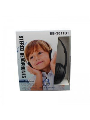 Wholesale Base Booster Bluetooth Headphone BB-3011BT - Black