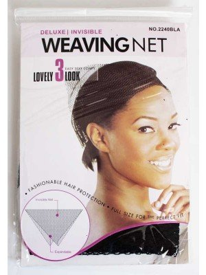 Invisible Weaving Hair Net -Black