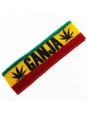 Head Sweatbands Ganja Print