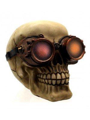 Visionary Steampunk Skull- 14.8 cm