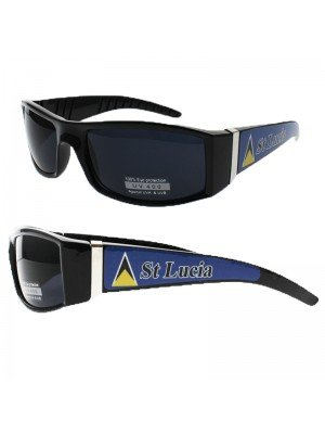 Fashion Sunglasses - St Lucia Flag