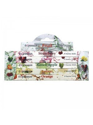 Wholesale Expression Variety Incense Sticks Gift Packs - Fruit