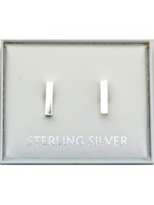 Wholesale Sterling Silver Rectangular - 8mm