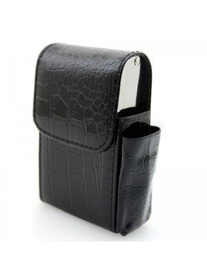 Wholesale Cigarette Case Tobacco Pouch with Lighter Holder