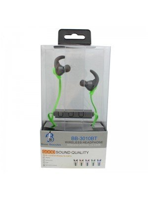 Wholesale Base Booster Bluetooth Headphone BB-3010BT - Green