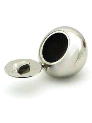 Wholesale Metal Dome Shape Ashtray - 7 cm