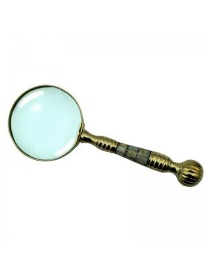 Wholesale Silver Handle Magnifier - 25cm