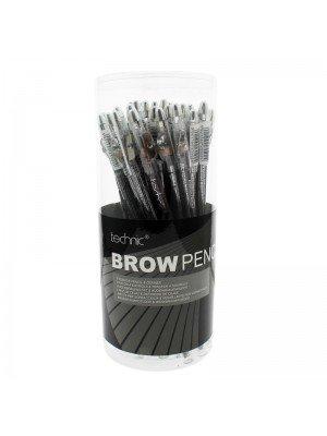 Wholesale Technic Brow Pencil & Definer Brush - Assorted