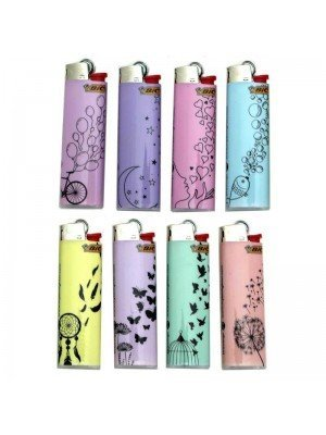 Wholesale BiC Collectable Lighters - Drawing - Assorted (x50)