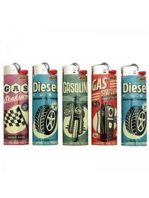 Wholesale BiC Collectable Lighters - 'Fuelled Lighters'  - Assorted (x50)