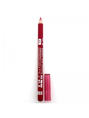 Davis 2 in 1 Waterproof Lipliner, Eyeliner & Eyeshadow Pencil - 27