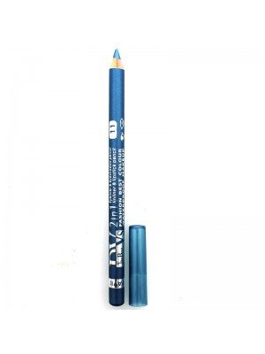 Davis 2 in 1 Waterproof Lipliner, Eyeliner & Eyeshadow Pencil - 11
