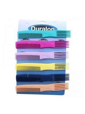 Duralon Colour Afro Teaser Comb (19cm) - Assorted colours