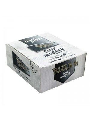 Wholesale Rizla Silver  King Size Slim Rolling Papers 50 Booklets