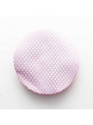 Fine Bun Net With Ruffle Closure - Pink