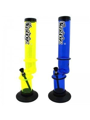 "Wholesale Chongz Acrylic Bong ""Ice Kink"" - 16 inch"