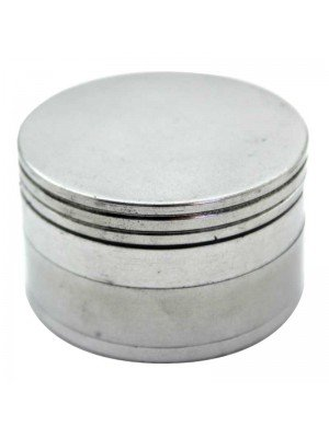 Wholesale 4-Part Metal Grinder - Metallic Silver
