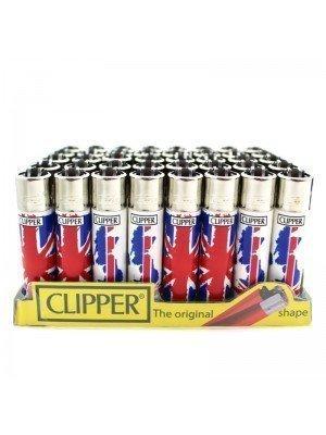 Clipper Union Jack Flag Print Flint Lighter Wholesale
