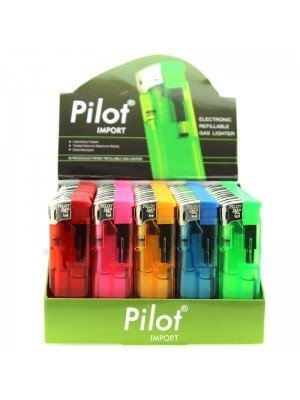 Pilot Electronic Gas Refillable Lighters