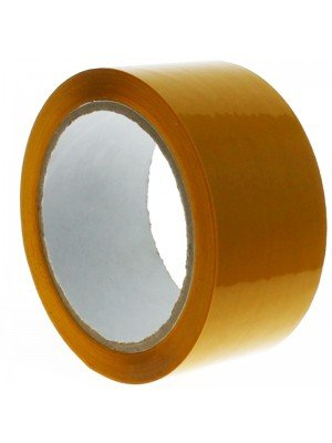 Yellow Polypropylene Packing Tape (48mm x 66 meters)
