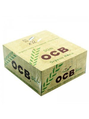Wholesale OCB Organic Hemp Vegan King Size Slim Unbleached Rolling Papers