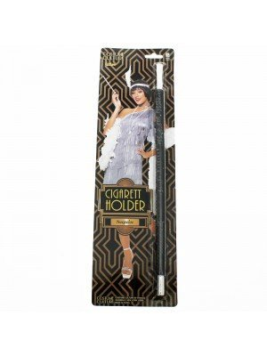 1920's Black Sequin Cigarette Holder