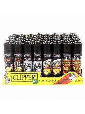 Wholesale Clipper Flint REUSABLE Lighters - Las Vegas