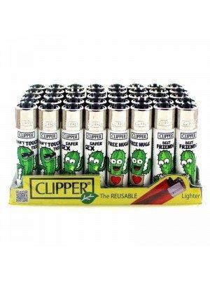 Wholesale Clipper Flint REUSABLE Lighters - Cactus