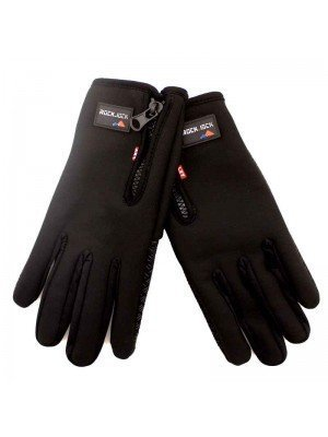 Wholesale RockJock Unisex Touchscreen Fleece Insulated Gloves