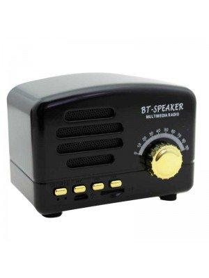 Wholesale Bluetooth Multimedia Radio Speaker - Black