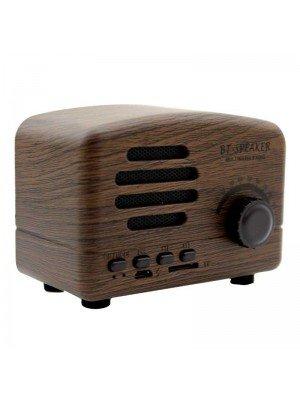 Wholesale Bluetooth Multimedia Radio Speaker - Wood