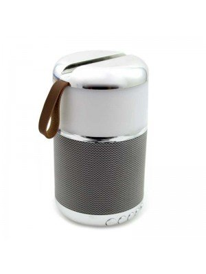 Wholesale Portable Bluetooth Speaker with Light - Silver