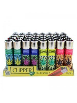 Wholesale Clipper Flint REUSABLE Lighters - Weed Soul