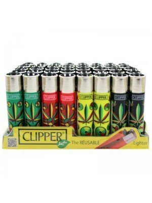 Wholesale Clipper Flint REUSABLE Lighters - Marijane