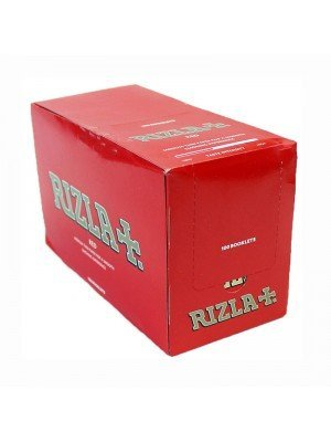 Rizla Red Standard Rolling Papers 100 Booklets