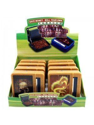 Wholesale Tobacco Cigarette Rolling Machine Box - Assorted Prints
