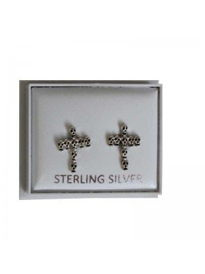 Sterling Silver Skull Studs - Approx 12mm