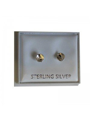 Sterling Silver Golf Peg Studs - Approx 6mm
