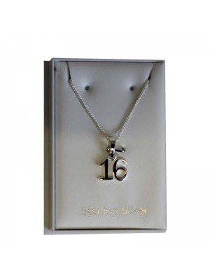 Sterling Silver 16 Necklace 9mm