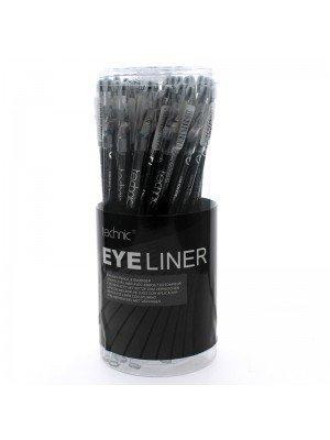 Wholesale Technic Eyeliner Pencil With Smudger & Sharpener - Black