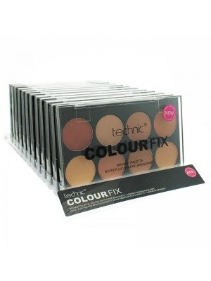 Technic Colourfix 8 Colour Bronze Palette