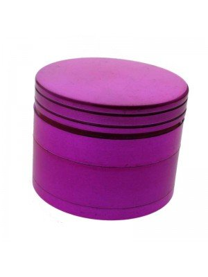 4-Part Metal Grinder - Metallic Pink