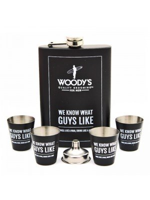 "Wholesale  ""We know what guys like.."" Hip Flask Gift Set"