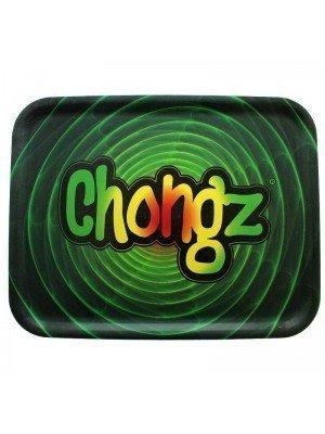 Chongz Green Rolling Tray - Approx 36 x 28 cm