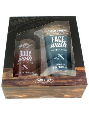 Technic Man's Stuff Face and Body Wash Gift Set
