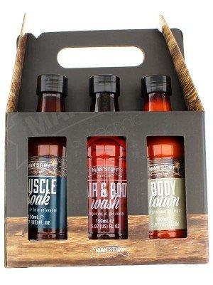 Technic Man's Stuff Toiletry Gift Set - Bottles